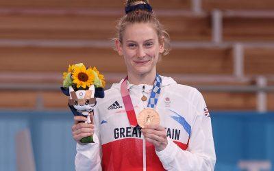 Olympics 2020, Bronze for Bryony