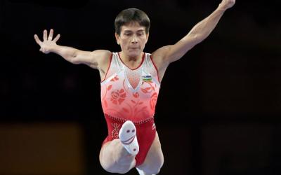 The unstoppable Oksana Chusovitina